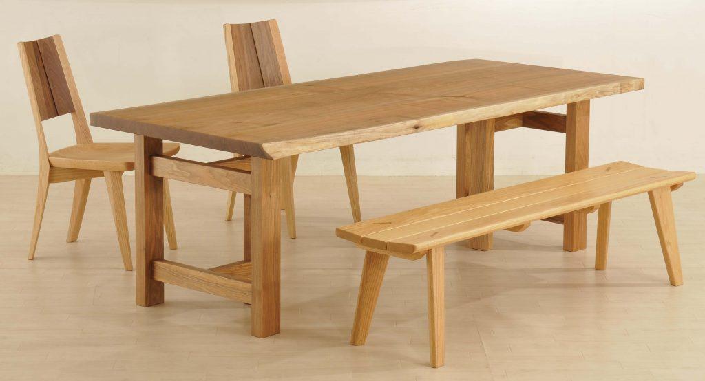 共木テーブル-兼用脚